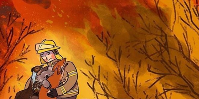 Πόλεις … φαντάσματα από τις φονικές πυρκαγιές