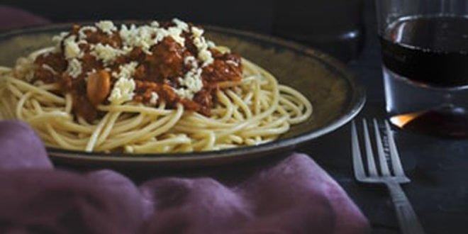 Σάλτσα μπολονέζ ιδανική για τη νηστεία! Μια υγιεινή, χορτοφαγική συνταγή για όλη την οικογένεια.