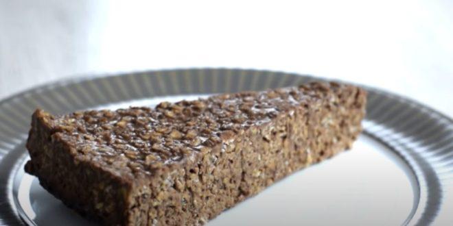Πανεύκολο σοκολατένιο κέικ βρώμης με 3 υλικά (χωρίς ψήσιμο) - BORO από την ΑΝΝΑ ΔΡΟΥΖΑ