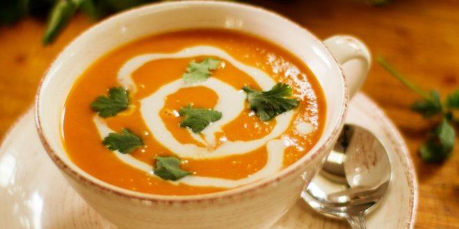 Σούπα γλυκοπατάτας με γάλα καρύδας (Μόνο 158 θερμίδες) - BORO από την ΑΝΝΑ ΔΡΟΥΖΑ