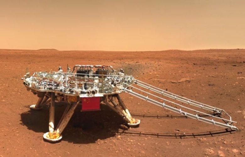 Η Κίνα αφήνει τη «σφραγίδα» της στον Άρη – Η selfie του ρομπότ Zhurong – News.gr
