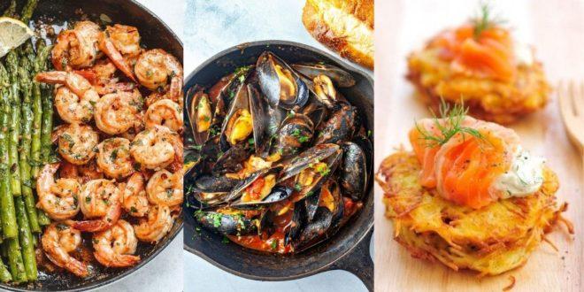 Summer Food: Σας προτείνουμε 3 λαχταριστές συνταγές θαλασσινών με λιγότερες από 300 θερμίδες - BORO από την ΑΝΝΑ ΔΡΟΥΖΑ