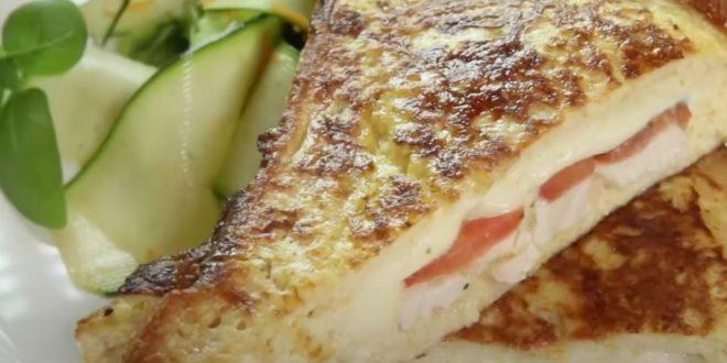 Γαλλικό τοστ με κοτόπουλο: Το ιδανικό πρωινό για ξεκίνημα - BORO από την ΑΝΝΑ ΔΡΟΥΖΑ