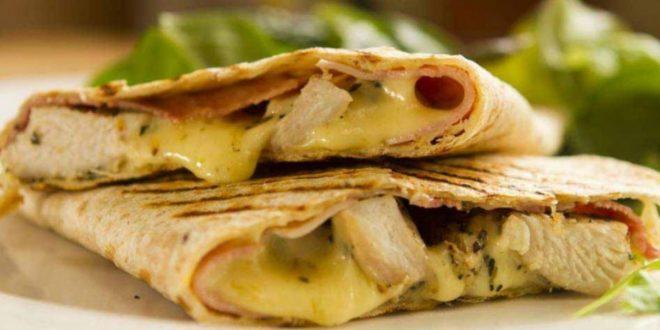 Κολατσιό για δουλειά: Τορτίγια με κοτόπουλο και σάλτσα μουστάρδας - BORO από την ΑΝΝΑ ΔΡΟΥΖΑ