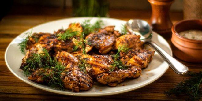 Κοτόπουλο στο γκριλ με σκόρδο γιαούρτι και άνηθο - BORO από την ΑΝΝΑ ΔΡΟΥΖΑ